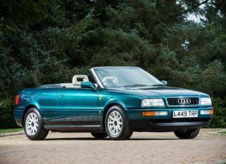 Πωλείται το Audi 80 Cabrio της πριγκίπισσας Νταϊάνα