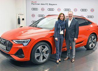 Μόνο Audi e-tron για τους παίχτες της Μπάγερν