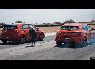 Hyundai i30 N vs Renault Megane R.S. Cup (+video)