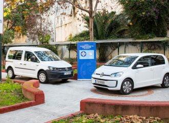 Δύο «πράσινα» Volkswagen στο Δήμο Αθηναίων