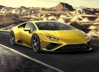 Νέα πισωκίνητη Lamborghini Huracan EVO 610 PS