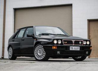 Χρυσή Lancia Delta HF Integrale Evo με 12.481 χλμ.!