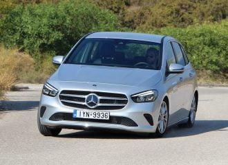 Δοκιμή Mercedes-Benz Β 200 1.33 λτ. 163 PS