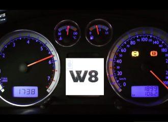 VW Passat W8 ανασταίνουν και νεκρούς! (+video)
