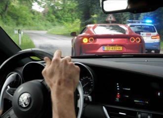 Alfa Romeo Giulia QV κυνηγάει Ferrari 812 (+video)