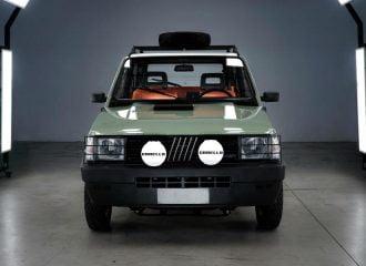 To κλασικό Fiat Panda 4×4 έγινε ηλεκτρικό