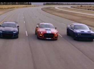 Η Shelby GT500 «σαπίζει» τον ανταγωνισμό (+video)