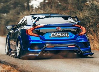 Τουρκικό Honda Civic Sedan «Type R»