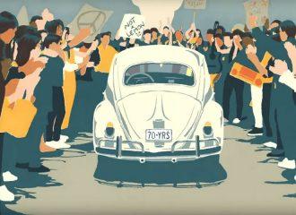 Το συγκινητικό video για το «αντίο» του VW Beetle (+video)