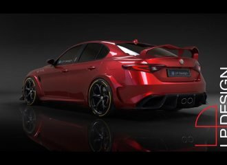 Θα θέλατε έτσι την Alfa Romeo Giulia GTA;