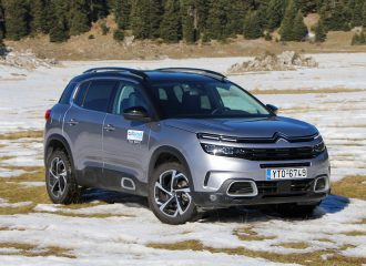 Δοκιμή Citroen C5 Aircross 1.2 PureTech 130 (+video)