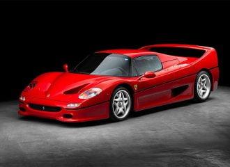 250.000 ευρώ κόστισε η ανακατασκευή Ferrari F50!