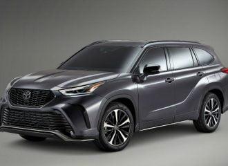 Νέο σπορ 8θέσιο Toyota Highlander XSE