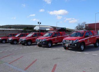 Νέα πυροσβεστικά Isuzu D-Max
