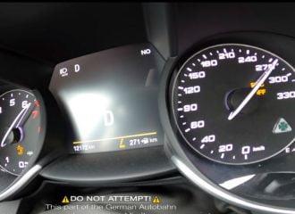 0-270 χλμ./ώρα με Alfa Romeo Giulia QV (+video)