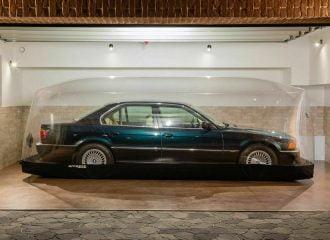 BMW 740i βρίσκεται σε καραντίνα για 23 χρόνια!