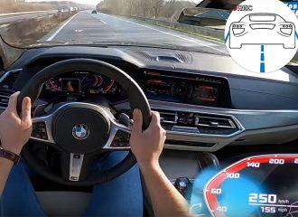 BMW X6 M50d τελικιάζει στην Autobahn! (+video)