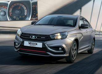 0-100 χλμ./ώρα με Lada Vesta Sport 145 PS (+video)