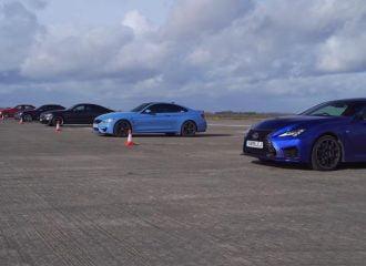 Lexus RC F Track Edition vs M4, M3 και C 63 (+video)