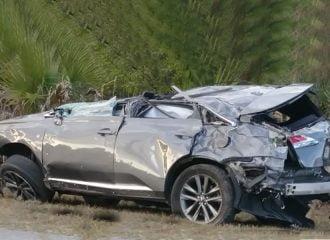 Lexus RX «απογειώθηκε» σε κόντρα! (+video)