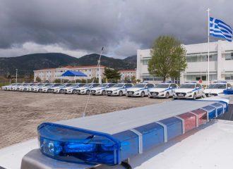 35 νέα περιπολικά για την Ελληνική Αστυνομία