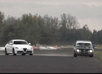 «Μάνα και κόρη» Alfa Romeo Giulia στην πίστα (+video)