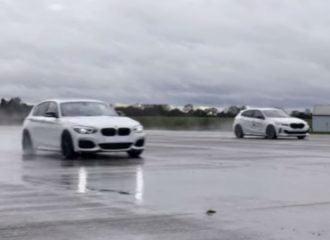 Η παλιά BMW M140i «φορτώνει» τη νέα M135i (+video)