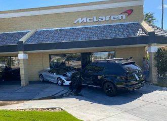 BMW X5 κατέστρεψε ολοσχερώς McLaren 720S