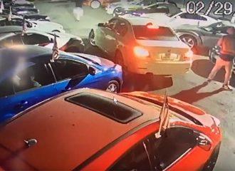Έκλεψαν 3 αυτοκίνητα κι έκαναν ζημιά σε 6! (+video)