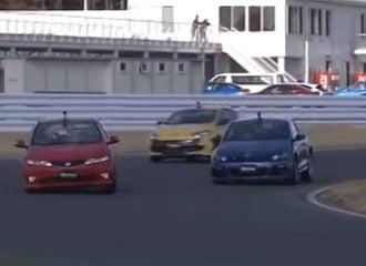 Όταν τα Megane RS και Scirroco R κυνηγούσαν το Type R (+video)