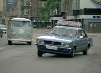 Κυνηγητό Ford Cortina με Citroen CX (+video)