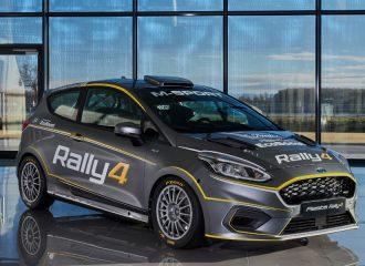 Νέο Ford Fiesta Rally4 με 213 ίππους από 999 κυβικά!
