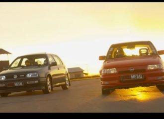 VW Golf VR6 VS Opel Astra GSi (+video)