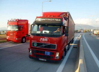 Προστασία των οδηγών φορτηγών κατά του κορωνοϊού