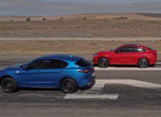 Η Alfa Stelvio QV υποτάσσεται στη BMW X4 M (+video)