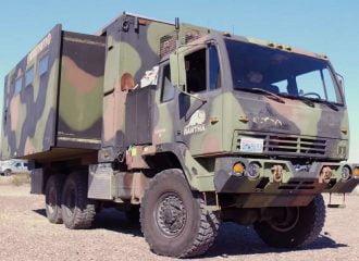 Μετέτρεψαν στρατιωτικό όχημα σε τροχόσπιτο! (+video)