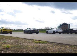 911 vs R8 vs GT-R και M850i με εκπλήξεις (+video)