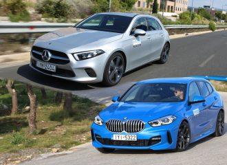 Συγκριτικό: BMW 116d VS Mercedes A 180 d