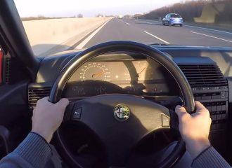 Αγέραστη Alfa Romeo 164 3.0 V6 QV (+video)
