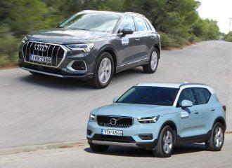 Audi Q3 35 TFSI VS Volvo XC40 T3