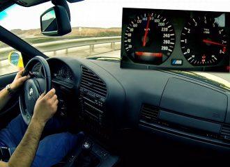Ηδονικές επιταχύνσεις με BMW M3 E36 (+video)