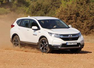 Δοκιμή Honda CR-V 2.0 AWD Hybrid