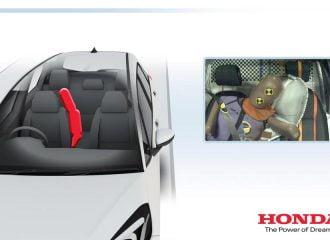 Πρωτοποριακός αερόσακος στο νέο Honda Jazz