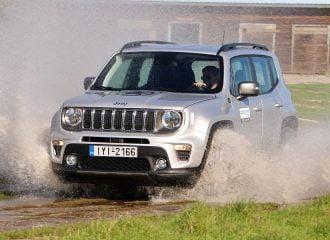 Δοκιμή Jeep Renegade 1.3 GSE 180 HP 4WD AT9