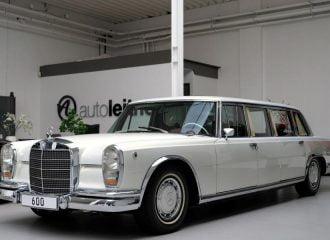 Αριστούργημα λιμουζίνα Mercedes για 2,15 εκ. ευρώ!
