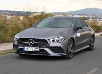 Δοκιμή Mercedes-Benz CLA Coupe 200 7G-DCT
