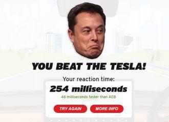 Μπορείτε να φρενάρετε καλύτερα από το Tesla;