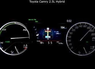 0-190 χλμ./ώρα με Toyota Camry Hybrid (+video)