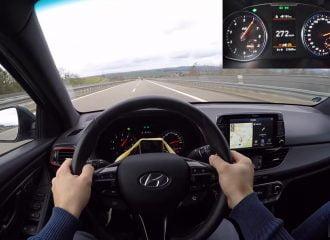 Πως πάει το Hyundai i30 N στα 272 χλμ./ώρα; (+video)