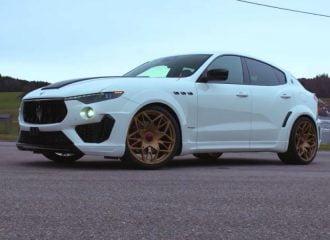 Η Novitec μαγεύει με τη Maserati Levante (+video)